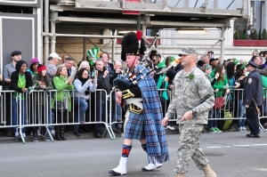 2012 St. Patrick's Day parade, NYC. Photo: The Boken on Flikr.
